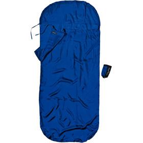 Cocoon KidSack Sacco lenzuolo Seta Bambino, blu
